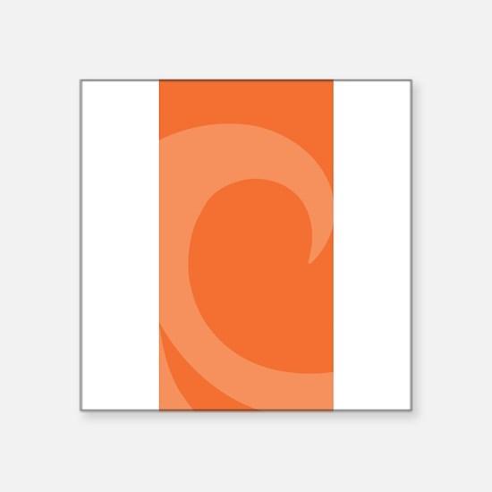 """Wave Square Sticker 3"""" x 3"""""""