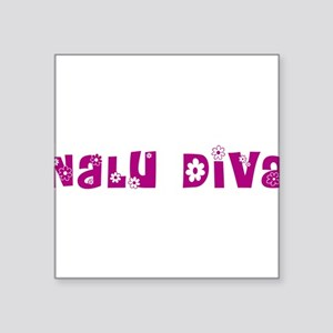 "Nalu Diva Square Sticker 3"" x 3"""