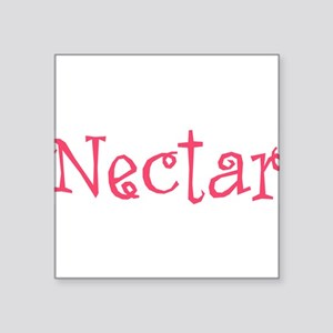"Nectar Square Sticker 3"" x 3"""