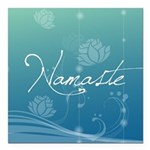 Namaste Square Car Magnet 3