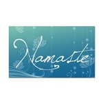 Namaste Rectangle Car Magnet