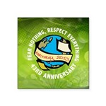 Earth Day Square Sticker 3