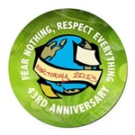 Earth Day Round Car Magnet
