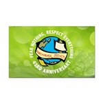 Earth Day Rectangle Car Magnet