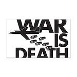 War is Death Rectangle Car Magnet