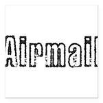 Airmail Square Car Magnet 3