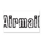 Airmail Rectangle Car Magnet