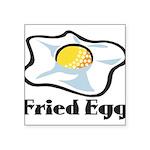 Fried Egg Square Sticker 3