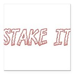Stake It Square Car Magnet 3
