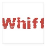 Whiff Square Car Magnet 3