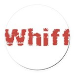 Whiff Round Car Magnet