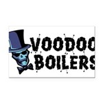 Voodoo Boilers 10 Rectangle Car Magnet