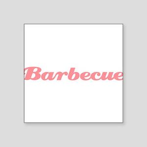 """Barbecue10x8 Square Sticker 3"""" x 3"""""""