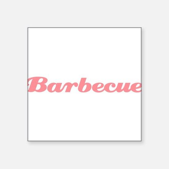 "Barbecue10x8.png Square Sticker 3"" x 3"""
