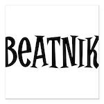 Beatnik10 Square Car Magnet 3