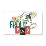 FrolicPad10 Rectangle Car Magnet
