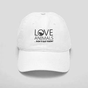 love animals don't eat them Cap
