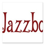Jazzbo10 Square Car Magnet 3