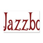 Jazzbo10 Rectangle Car Magnet