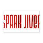 SparkJiver10x8 Rectangle Car Magnet