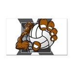 Apex Volleyball Rectangle Car Magnet