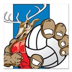 Bucks County Volleyball Square Car Magnet 3