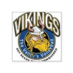 Vikings Logo Square Sticker 3