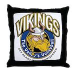 Vikings Logo Throw Pillow