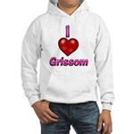 I heart grissom Hooded Sweatshirt