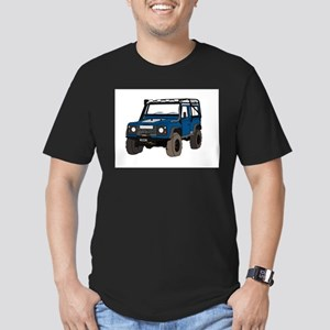 Off-road Defender 90 Colour Men's Fitted T-Shirt (