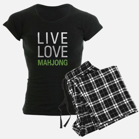 Live Love Mahjong Pajamas