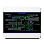 Excelsior class MSD Mousepad