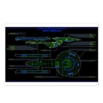 Excelsior class MSD Postcards (Package of 8)