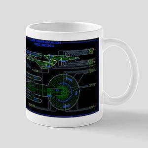 Excelsior class MSD Mug