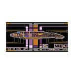 Defiant class MSD 38.5 x 24.5 Wall Peel
