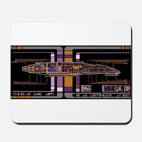 Defiant class MSD Mousepad