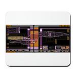 Galaxy Class MSD Mousepad