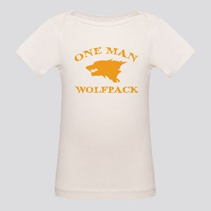 One Man Wolfpack Organic Baby T-Shirt
