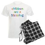 CHILDREN ARE A BLESSING Men's Light Pajamas