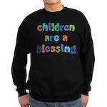 CHILDREN ARE A BLESSING Sweatshirt (dark)