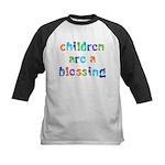 CHILDREN ARE A BLESSING Kids Baseball Jersey