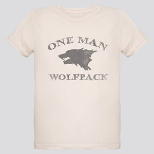 One Man Wolfpack Organic Kids T-Shirt