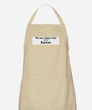 Easton: Best Things BBQ Apron