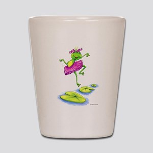 Dancing Lily Shot Glass