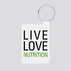 Live Love Nutrition Aluminum Photo Keychain