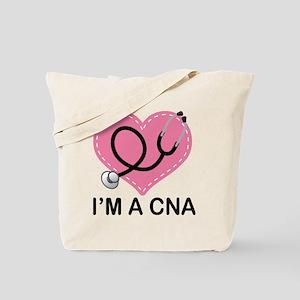 CNA Heart Tote Bag