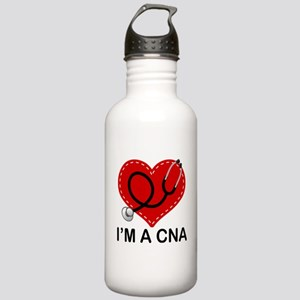 CNA Heart Stainless Water Bottle 1.0L