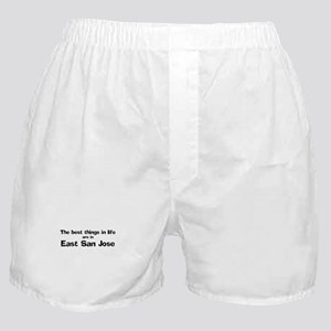 East San Jose: Best Things Boxer Shorts