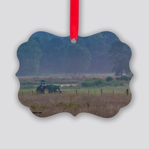 August Morning in Ozarks Picture Ornament