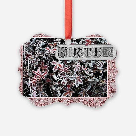 Winter Year Round Ornament